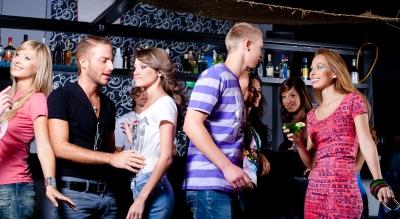bar pick up single dating