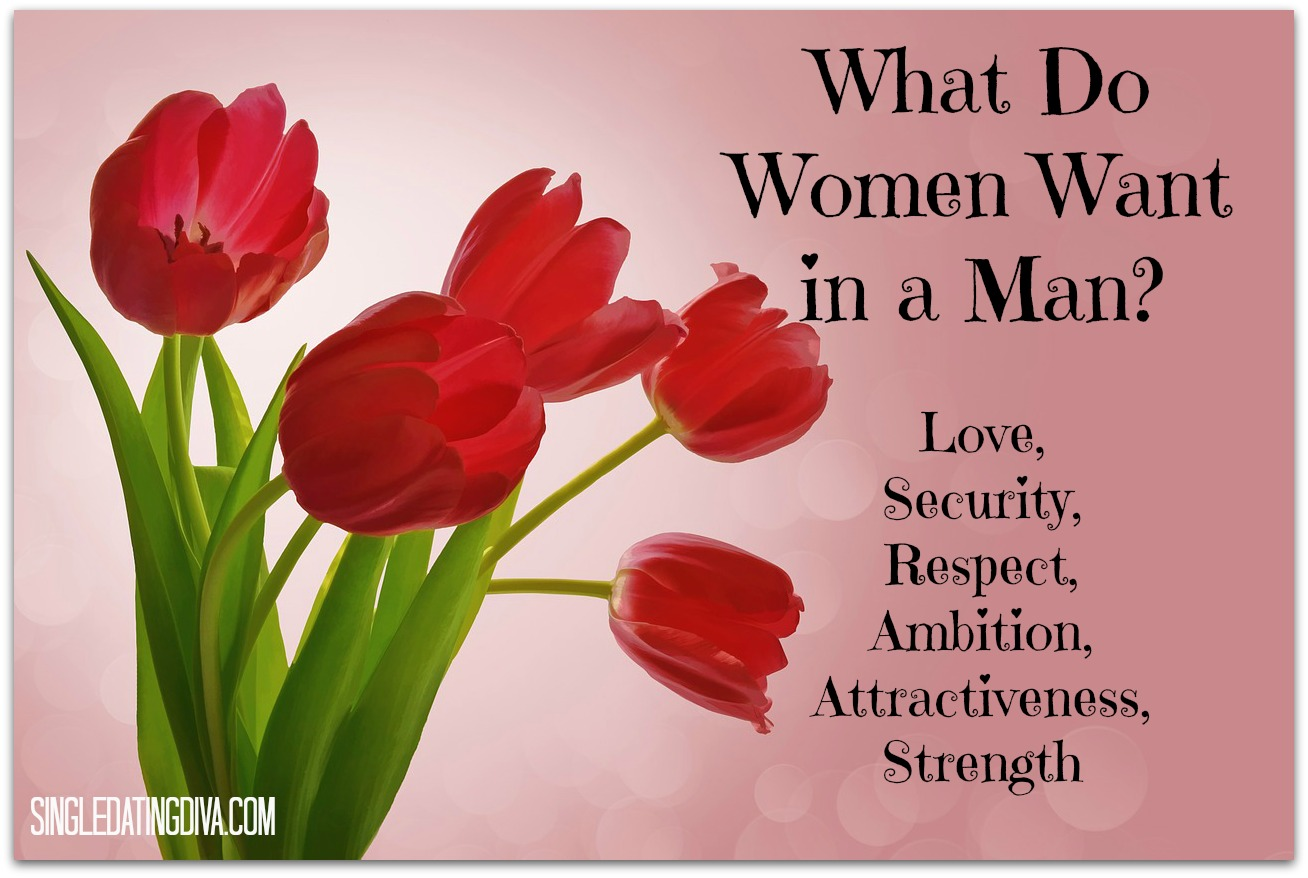 What does women want in a man