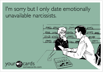 Stories about dating a narcissist