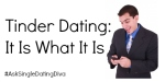 Tinder Dating: It Is What It Is