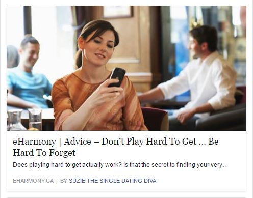 Dating Tips Playing Hard To Get