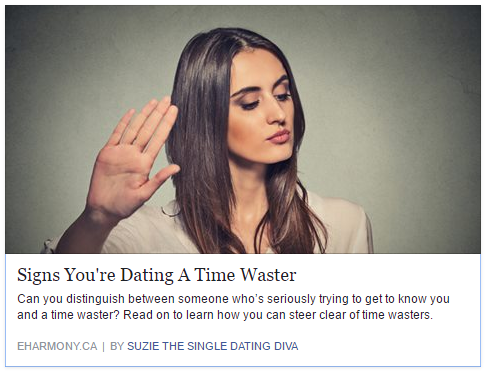 How To Know You're Dating A Time Waster