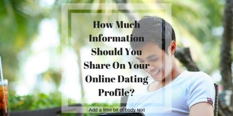 information-online-dating-profile